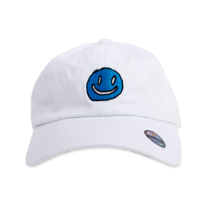 Mac Demarco WHITE SMILEY FACE CAP