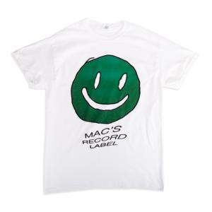 Mac Demarco GREEN SMILEY WHITE T-SHIRT