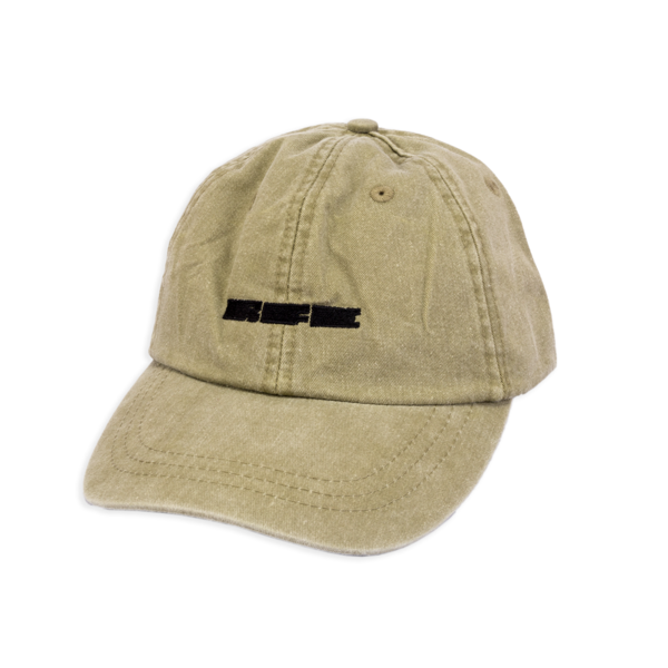 Run For Cover Logo Hat - Khaki