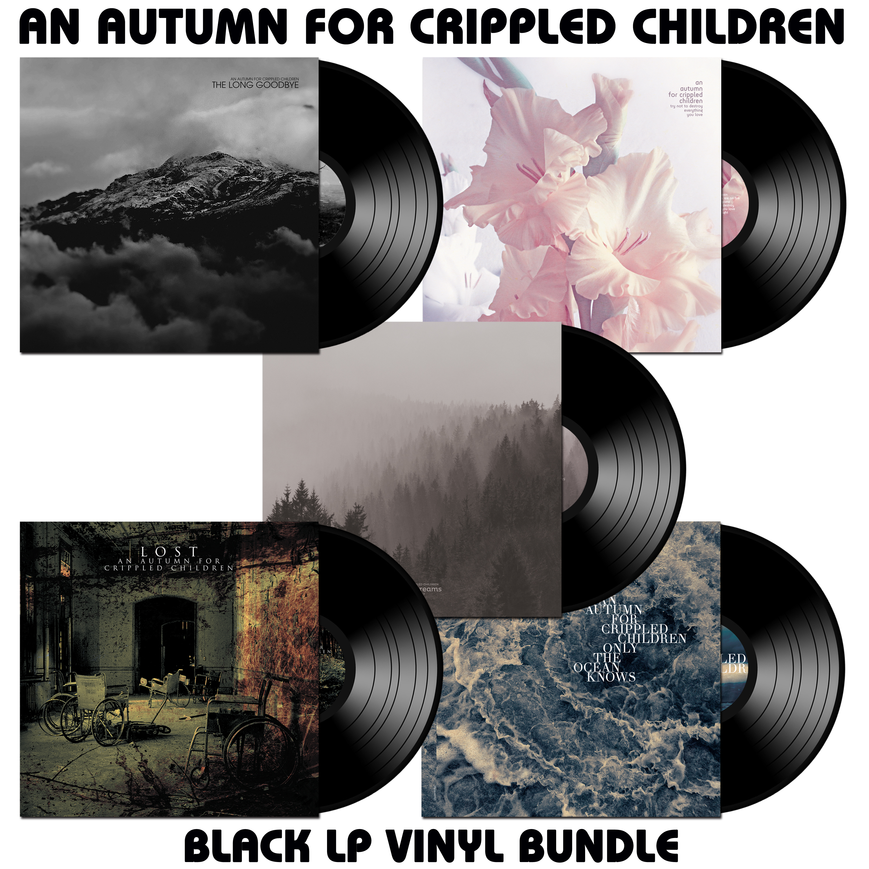 AN AUTUMN FOR CRIPPLED CHILDREN mega bundle (Prosthetic Records)