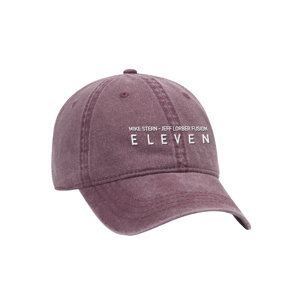 Garment Washed Embroidered Baseball Cap  + CD or Download (Optional)