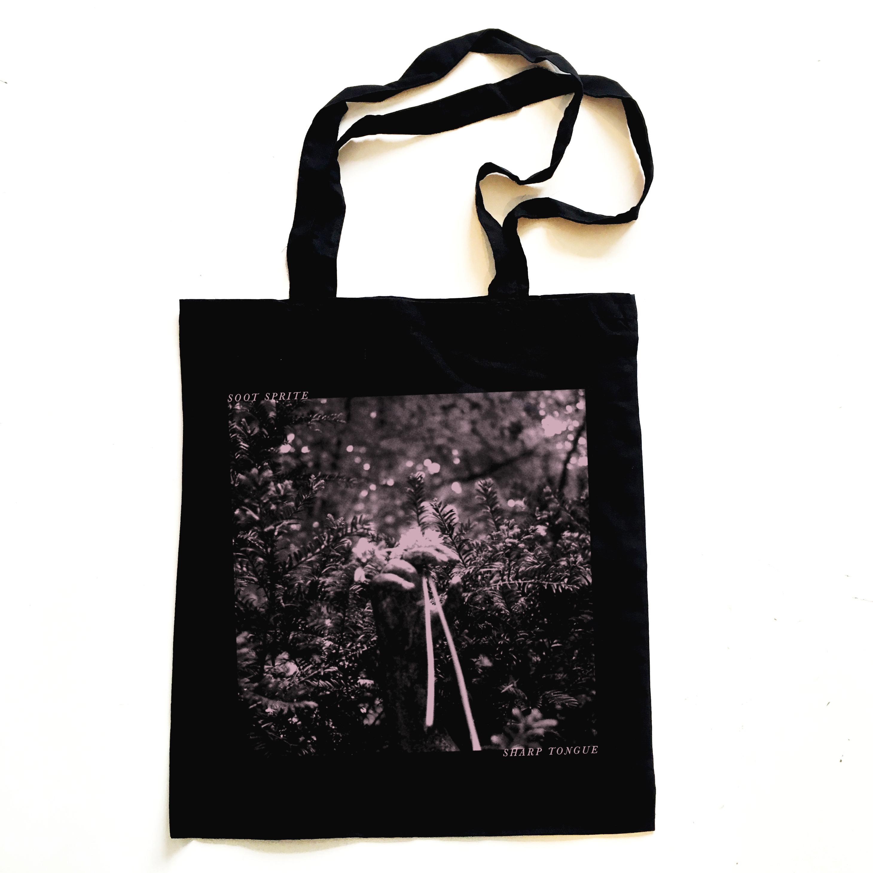 Soot Sprite - 'Sharp Tongue' Tote Bag