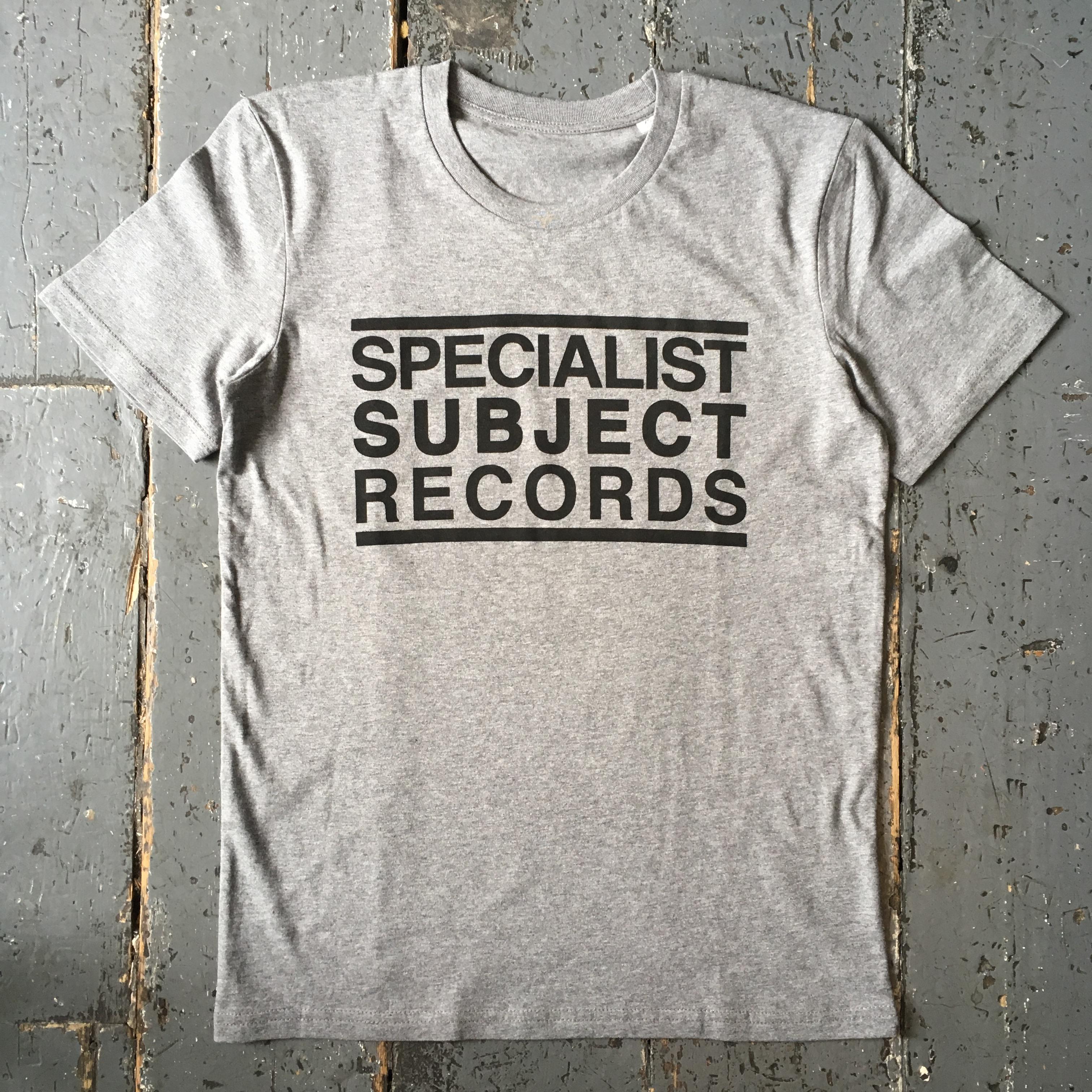 Specialist Subject - Logo Shirt Grey