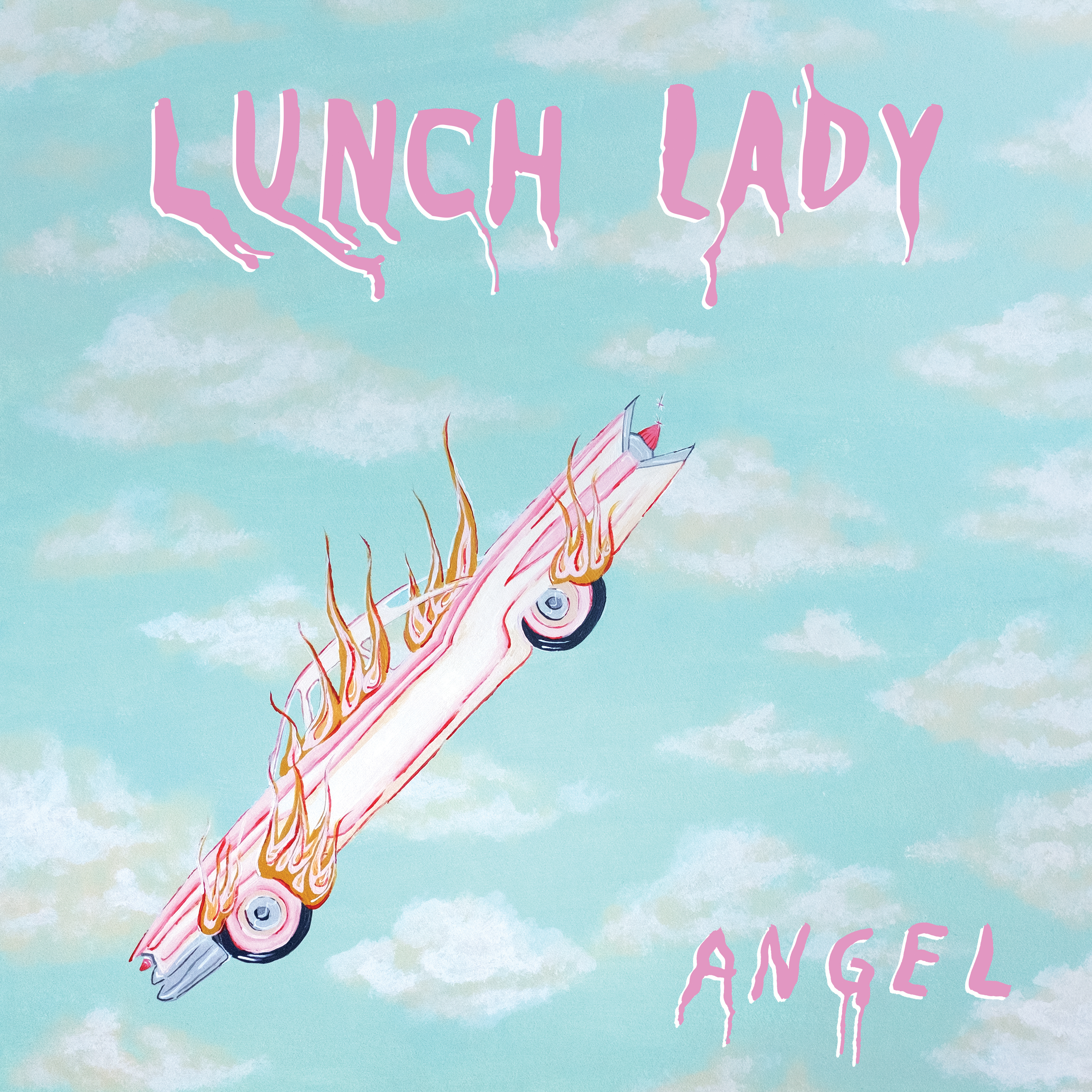 Lunch Lady - Angel (Cassette)