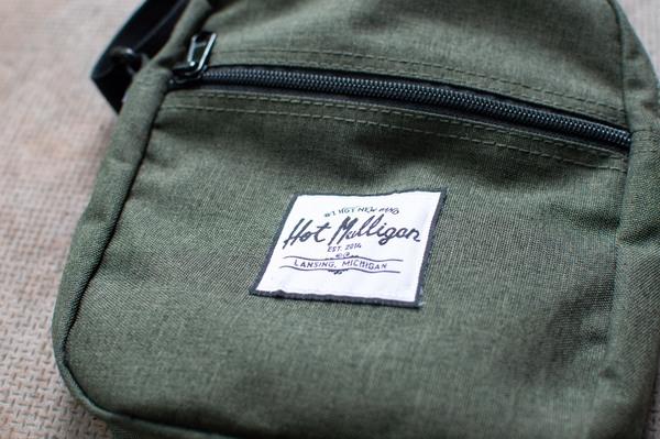 Hot Mulligan Merch - Armadillo Flight Bag