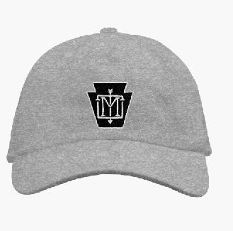 Grey Keystone Logo Cap