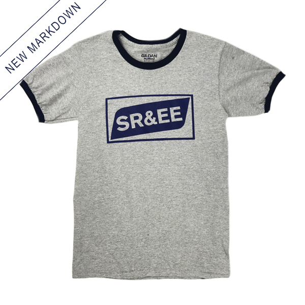 Spencer Radcliffe & Everyone Else - SR&EE Logo Ringer Shirt *Markdown*