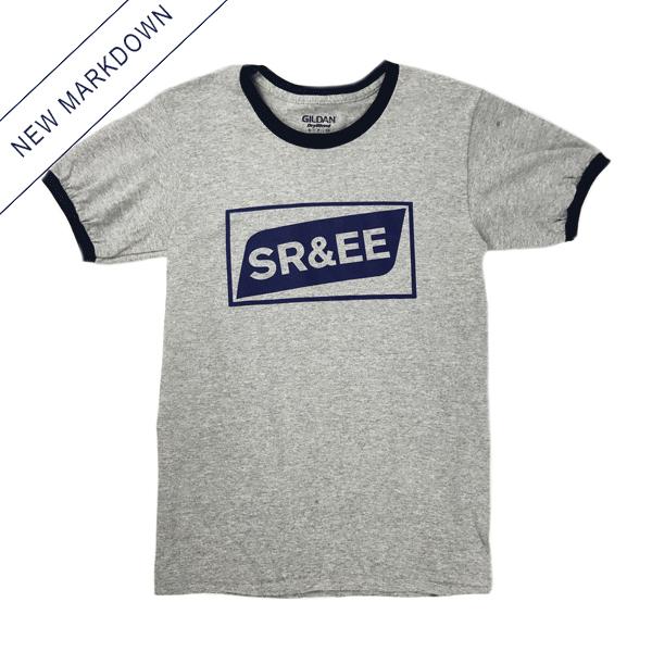 Spencer Radcliffe & Everyone Else - SR&EE Logo Ringer Shirt *Markdown*