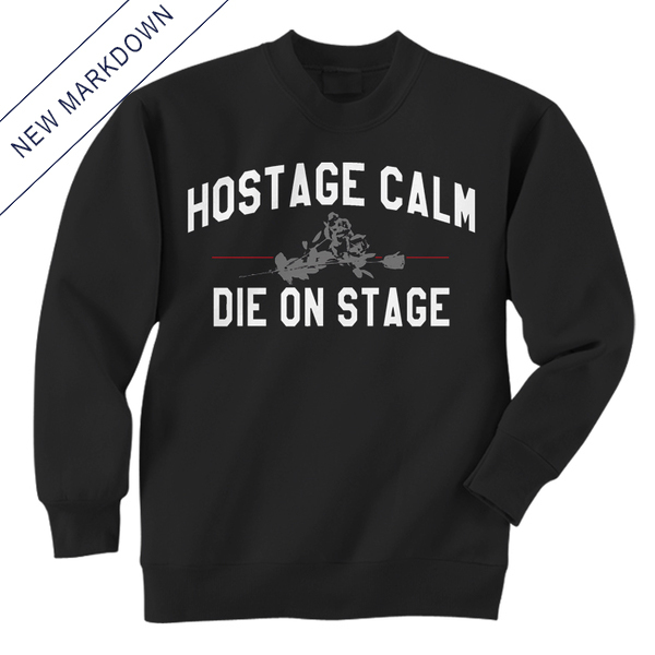 Hostage Calm - Bouquet Crewneck Sweatshirt *Markdown*