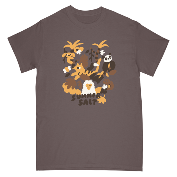 Summer Monkey Tee - Brown