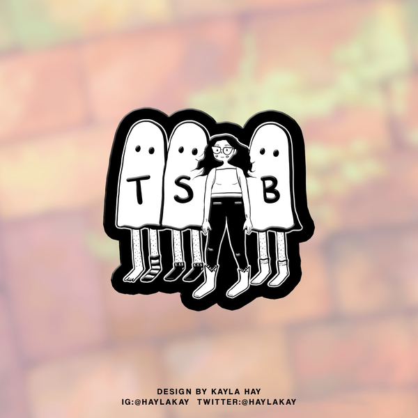 Ghosties Pin