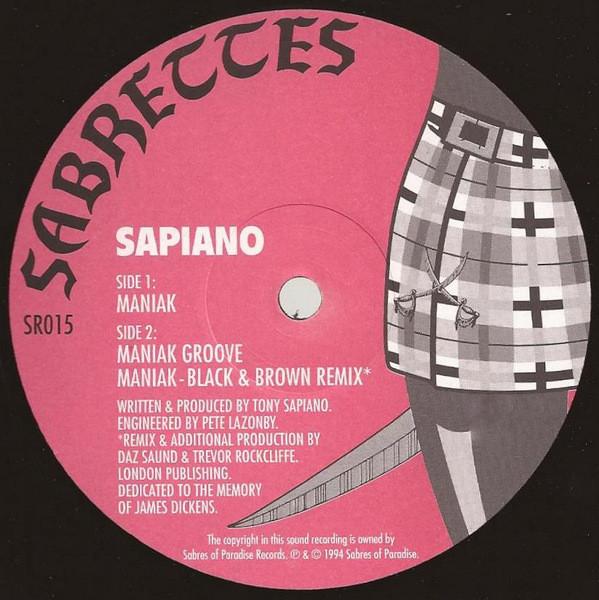 Sapiano – Maniak (Sabrettes)