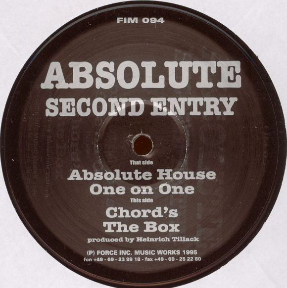 Absolute – Second Entry (Force Inc)