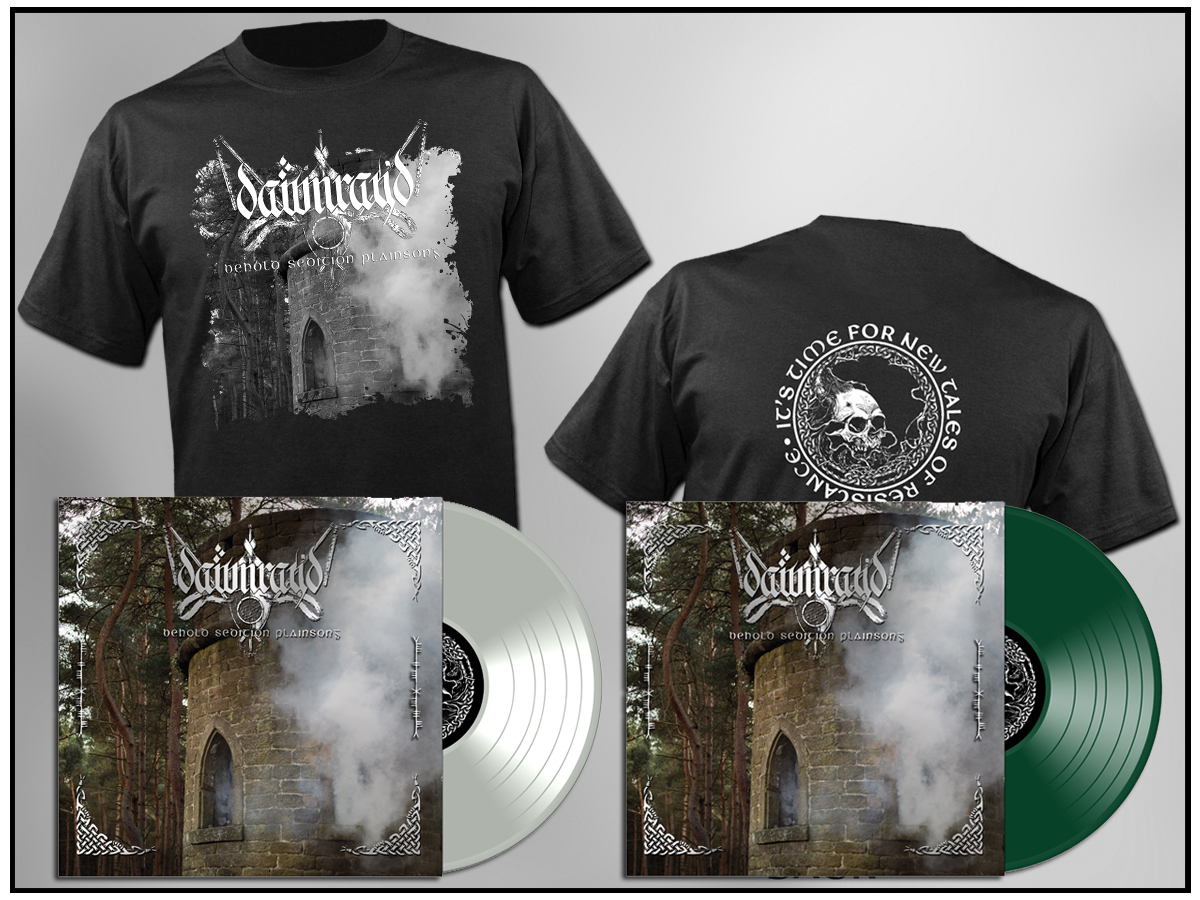 Dawn Ray'd -- Behold Sedition Plainsong (LP and T-Shirt Bundle)