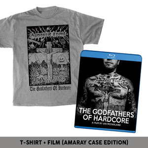 'The Godfathers Of Hardcore' Standard Blu-ray T-Shirt Package