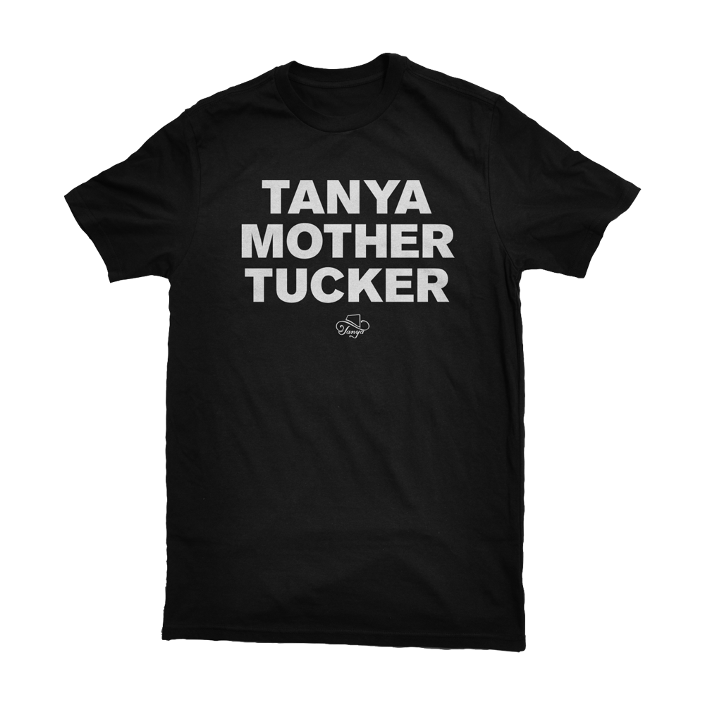 Tanya Tucker Black Tee Shirts + Album Download (optional)