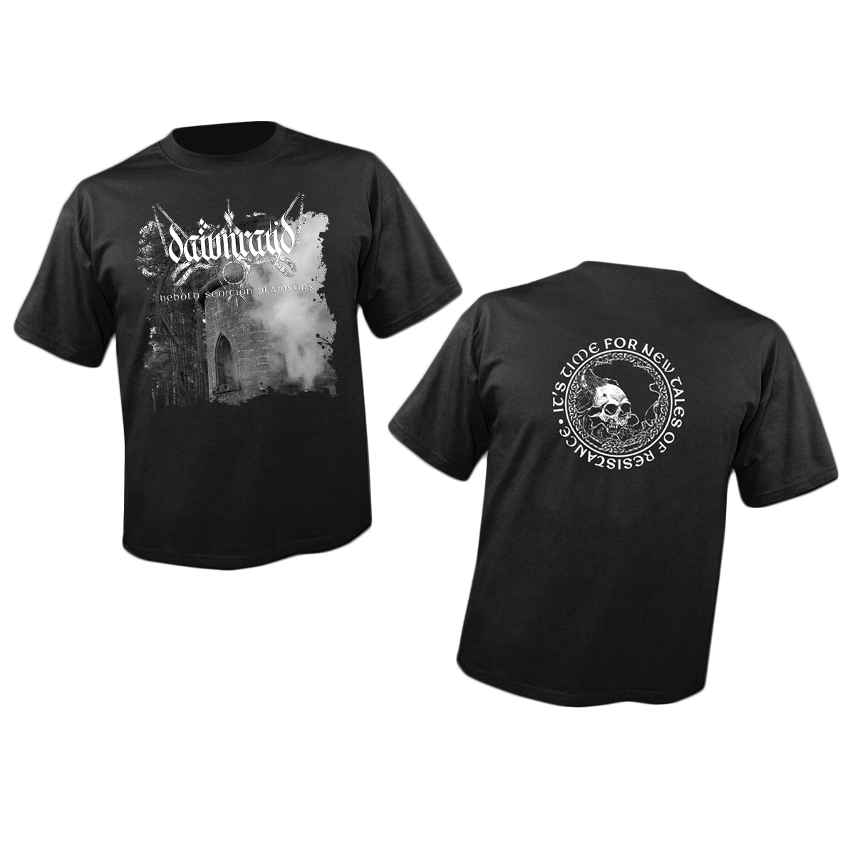 DAWN RAY'D - Behold Sedition Plainsong shirt PREORDER (Prosthetic Records)