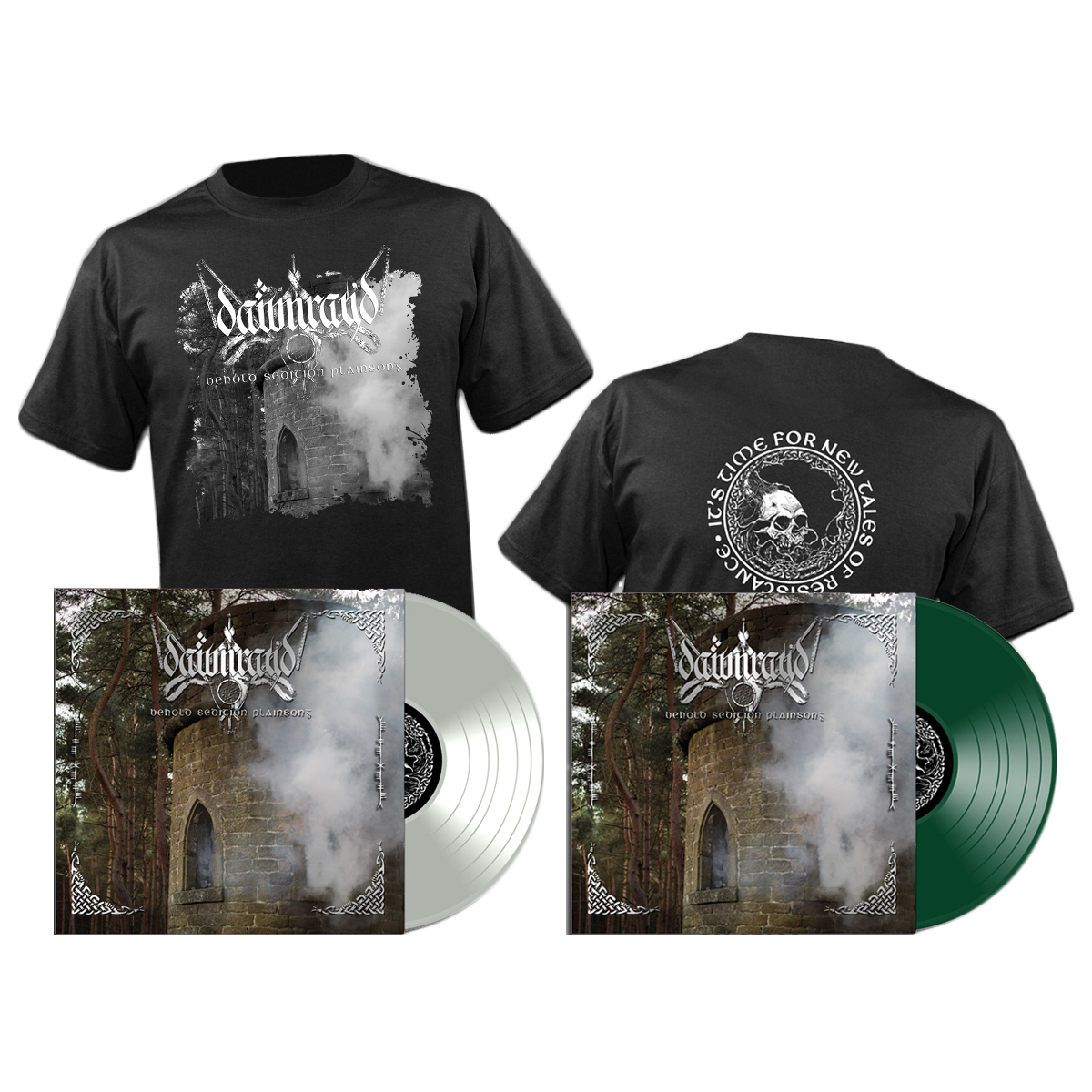 DAWN RAY'D - Behold Sedition Plainsong LP + shirt (Prosthetic Records)