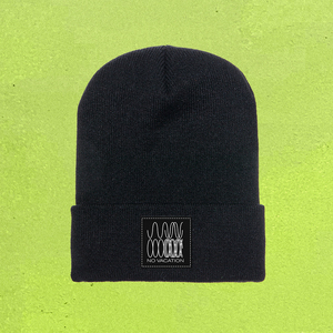 No Vacation - Phasing Beanie (Black)