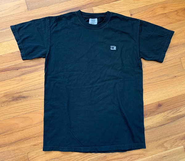 Microwave Sketch Embroidered T Shirt