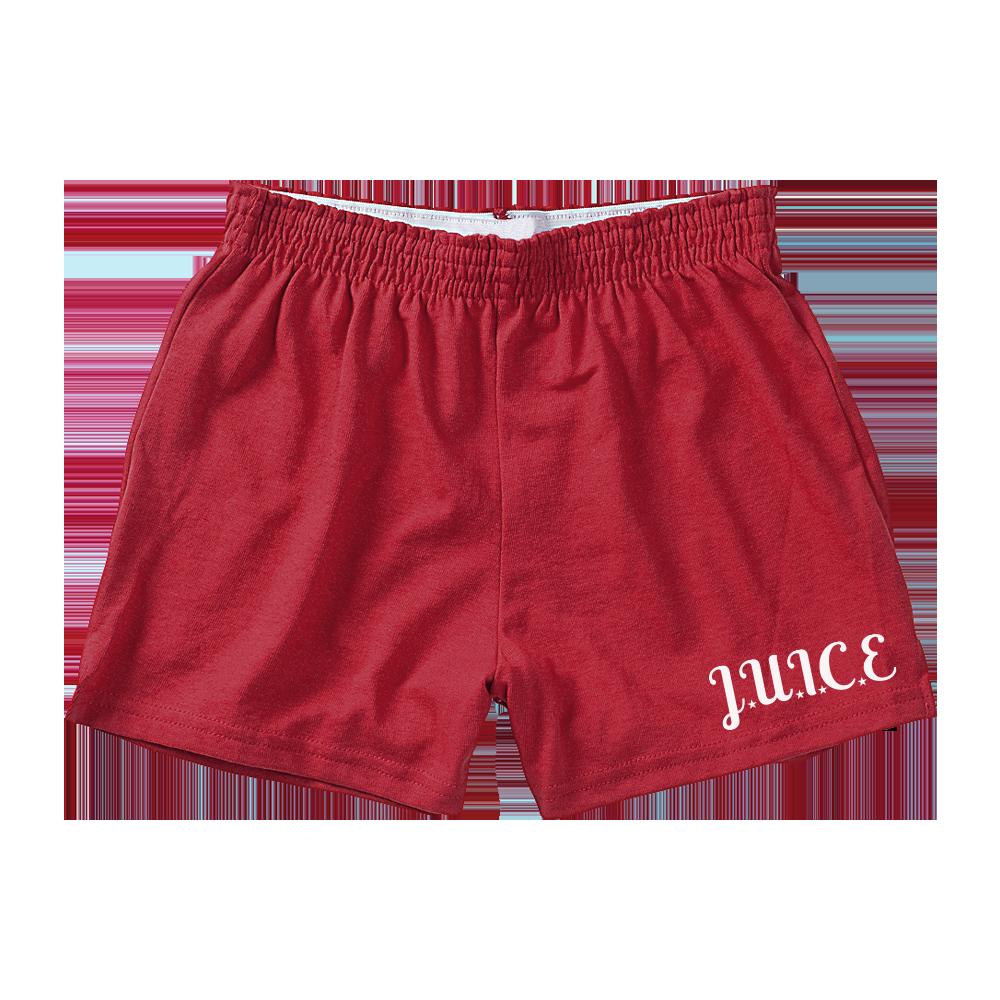 Red J.U.I.C.E. Shorts
