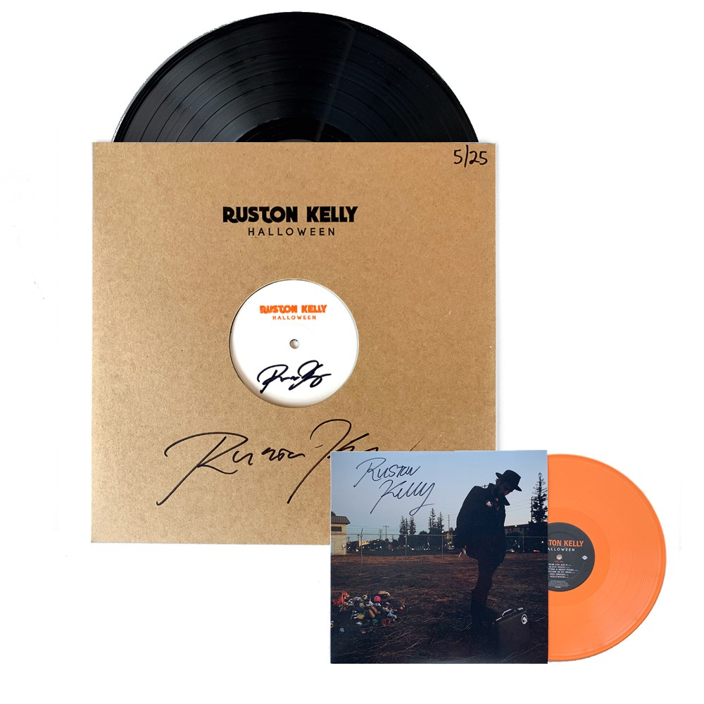 "Signed ""Halloween"" Test Pressing + Exclusive Orange ""Halloween"" Vinyl LP (25 available)"