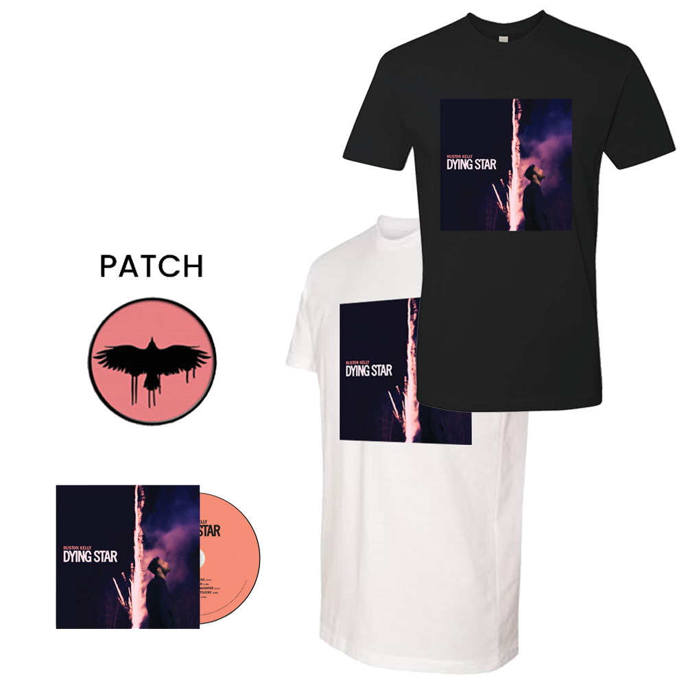 Signed CD + Tee Shirt + Patch Bundle