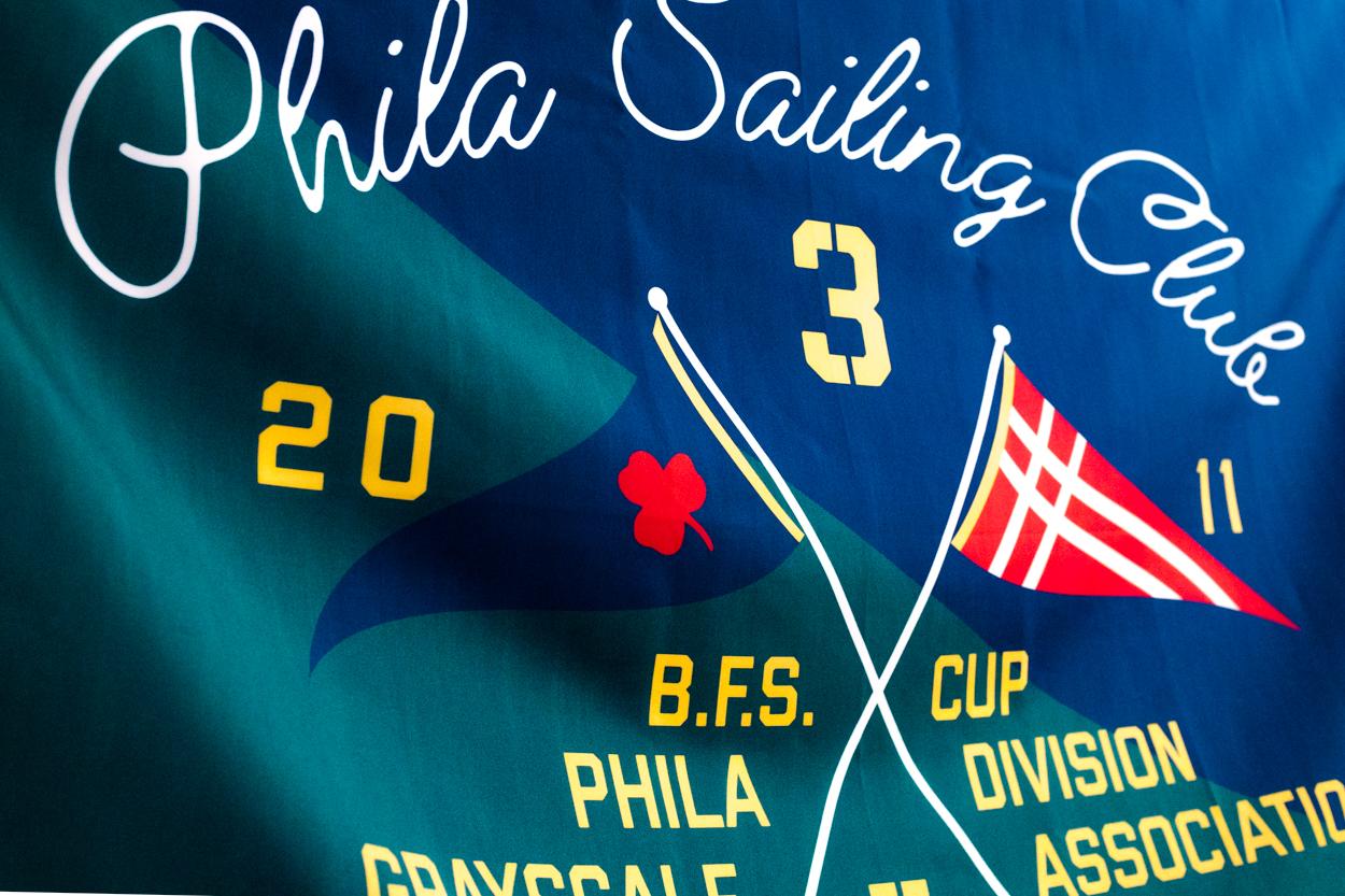 Sailing Club Wall Flag