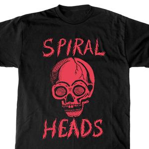 Spiral Heads 'Skull' T-Shirt