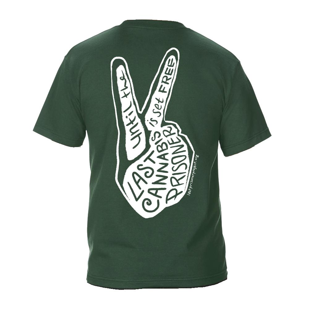 Peace Tee - Green