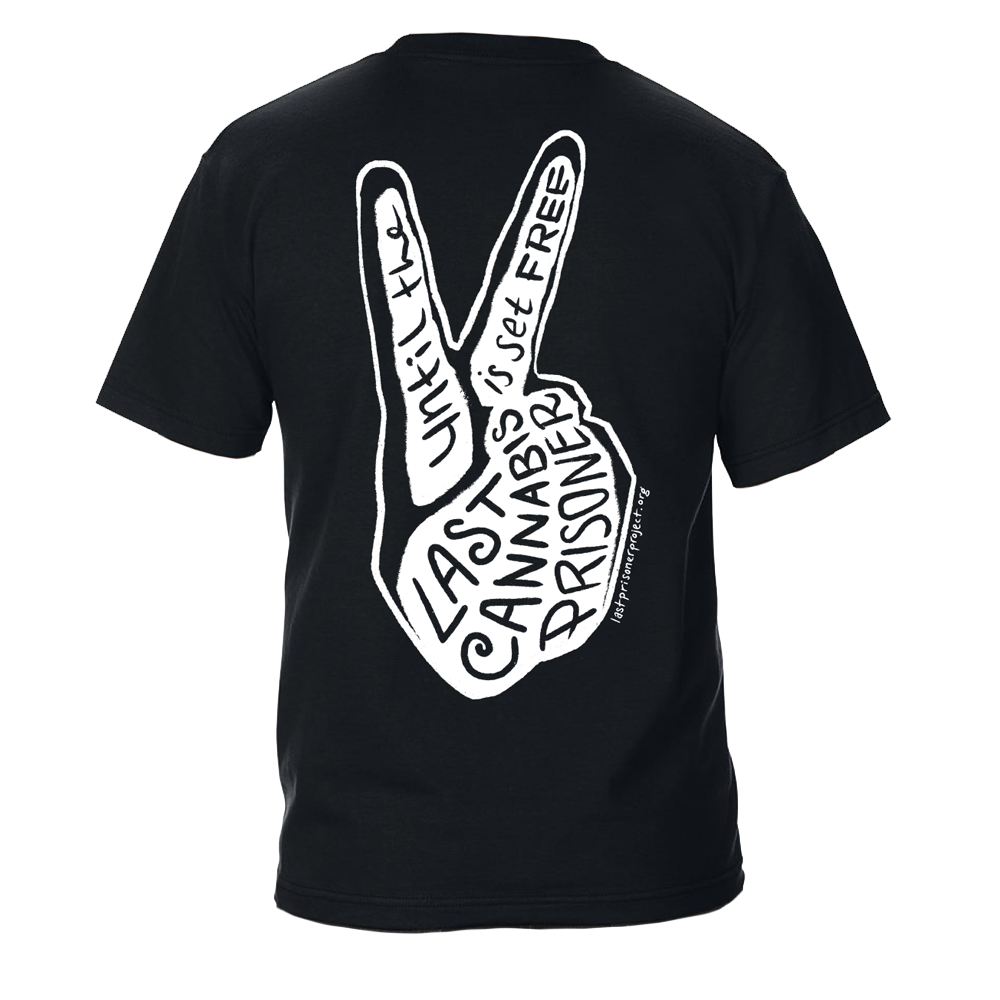Peace Tee - Black