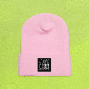 No Vacation - Phasing Beanie (Pink)
