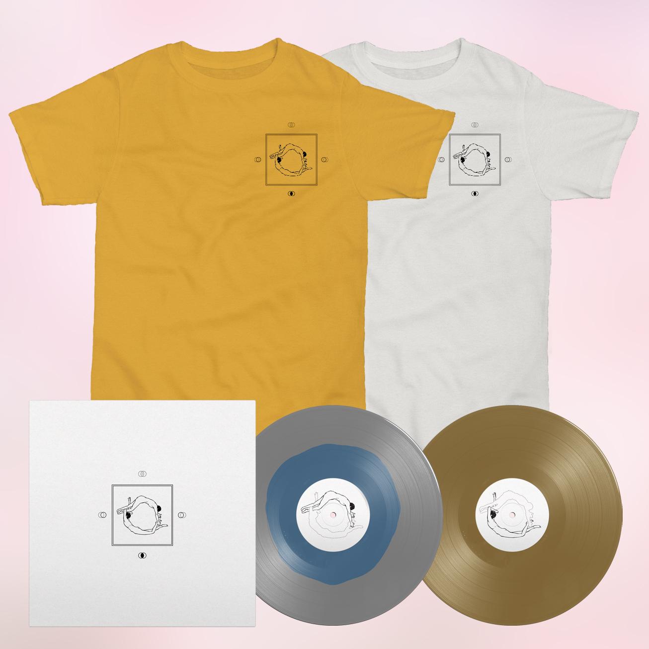 Earth Moves - Vinyl + Shirt Bundle