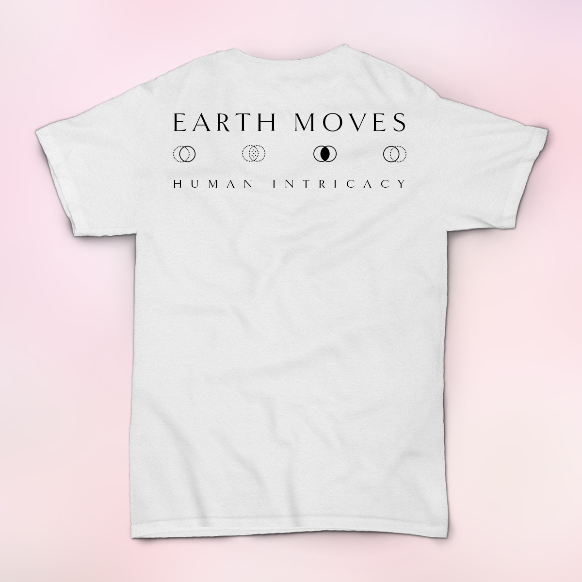 Earth Moves White Shirt