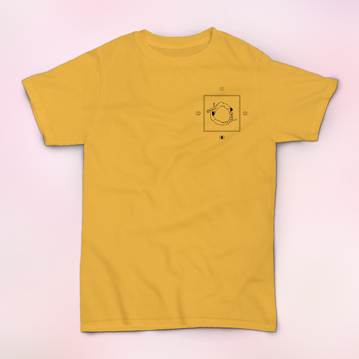 Earth Moves Yellow Shirt