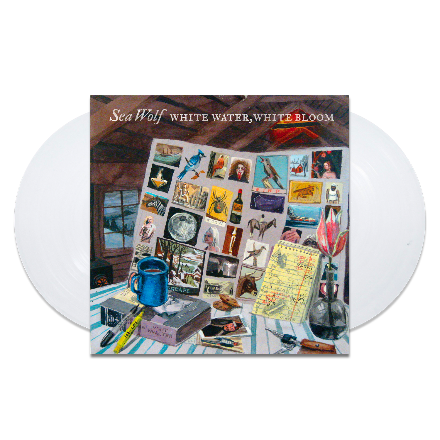 Sea Wolf - White Water, White Bloom 2 x LP – 10 Year Anniversary Edition White Vinyl