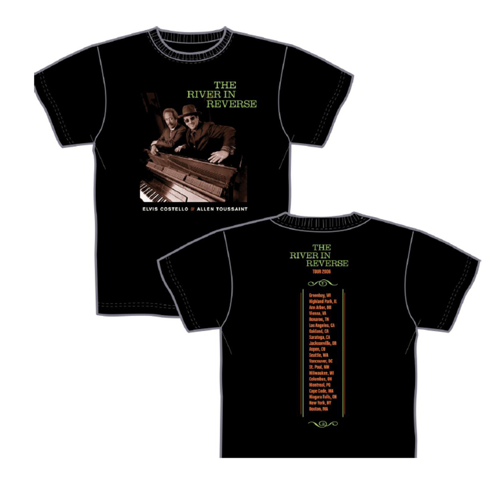 The River in Reverse (with Allen Toussaint) 2006 Tour T-Shirt