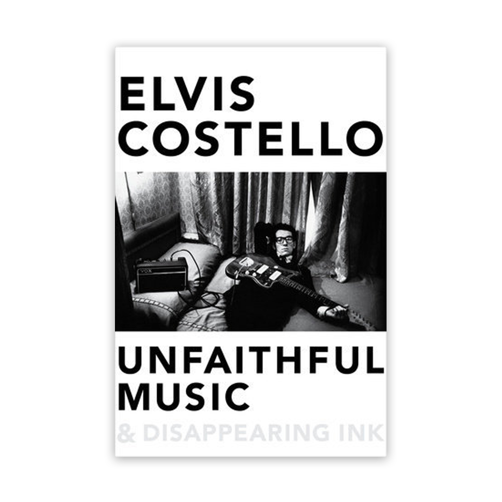 Unfaithful Music & Disappearing Ink Book