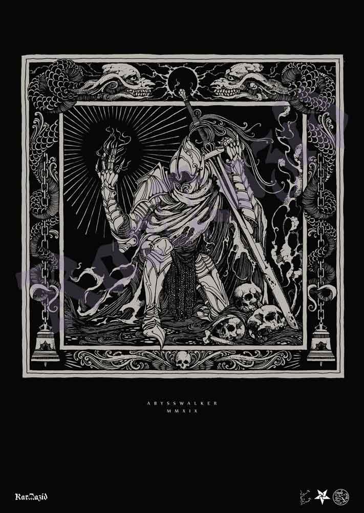 Abysswalker Print