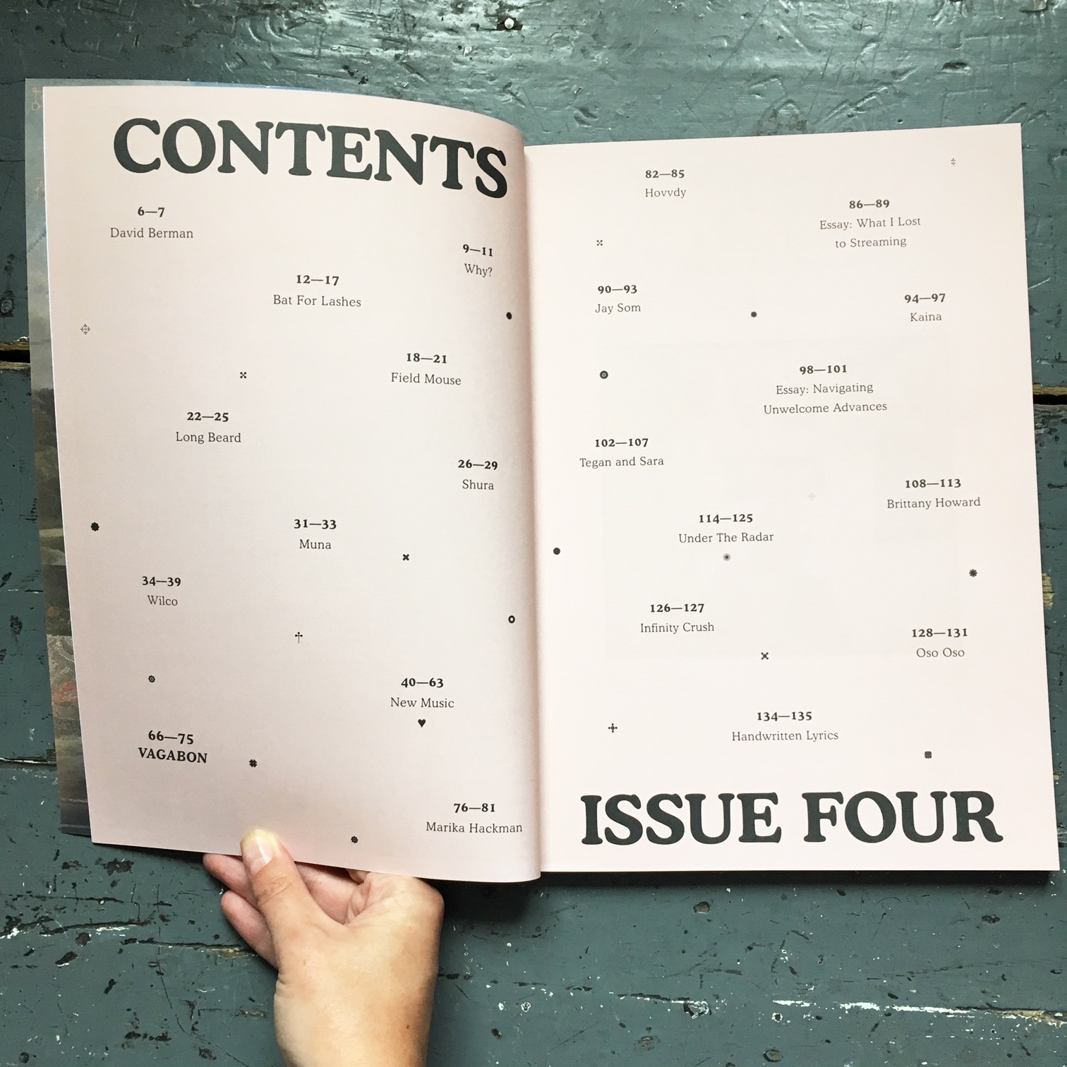 Gold Flake Paint: A Music Journal - issue 4
