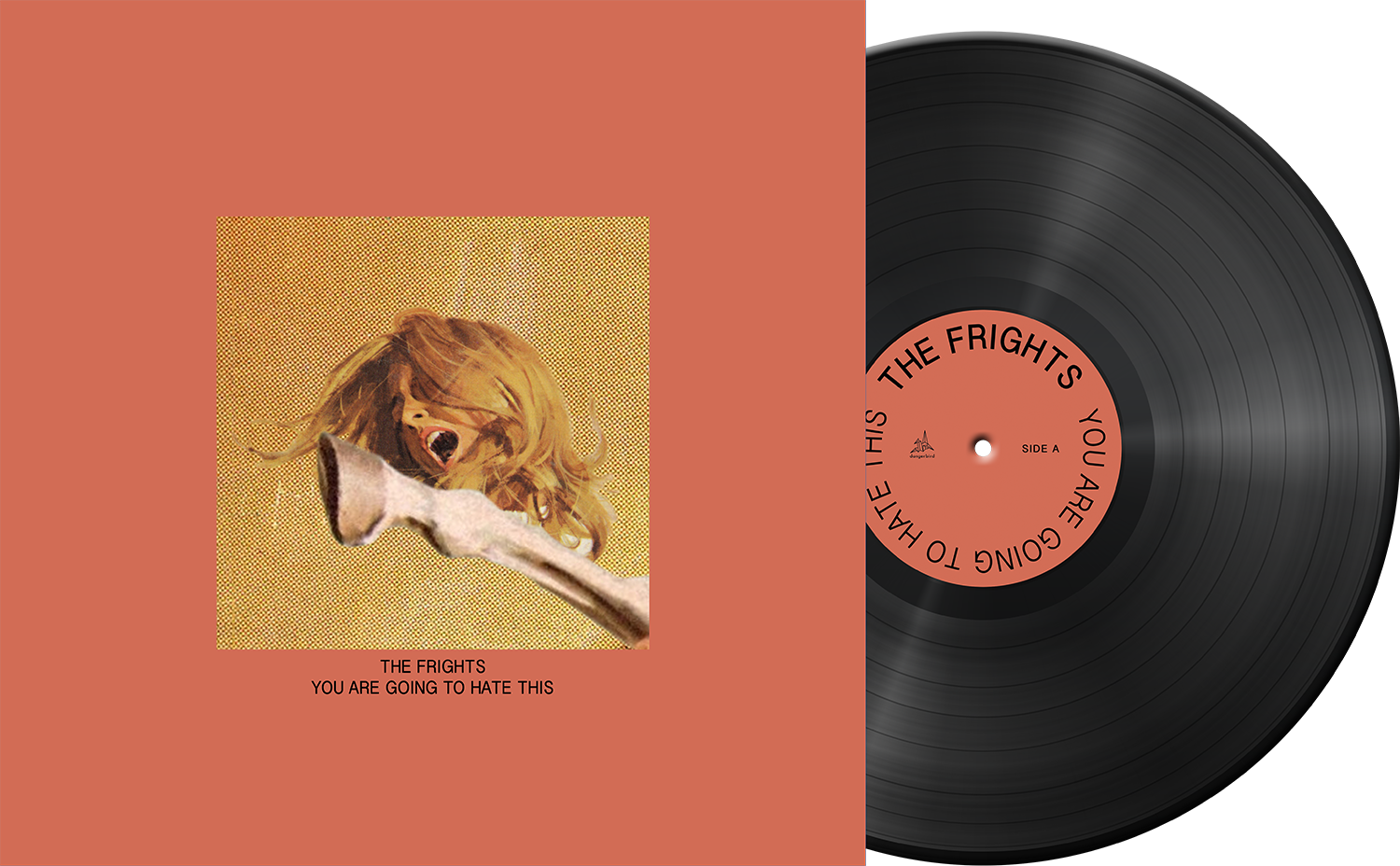 The Frights - You Are Going To Hate This - Black Vinyl LP