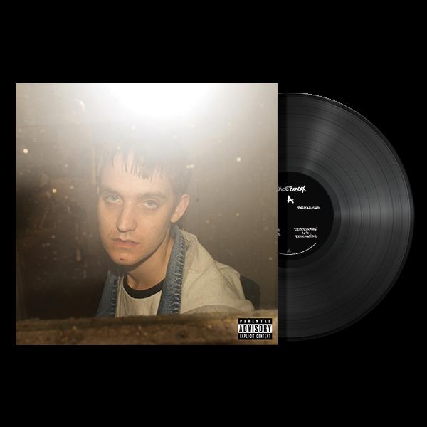 Juiceboxxx - Freaked Out American Loser - Black Vinyl LP