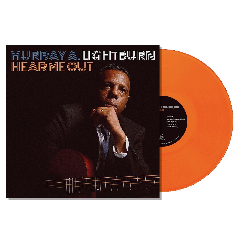 Murray A. Lightburn - Hear Me Out - Translucent Orange Vinyl LP
