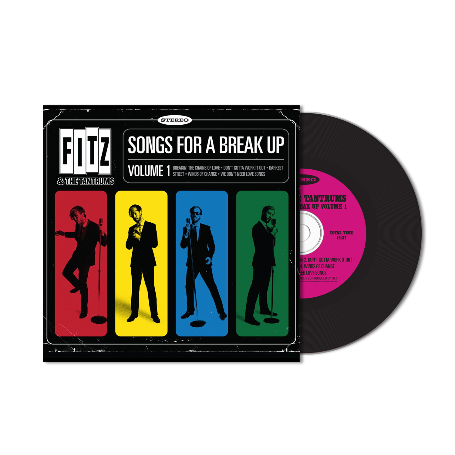 Fitz & The Tantrums - Songs For A Break Up Volume 1 - CD