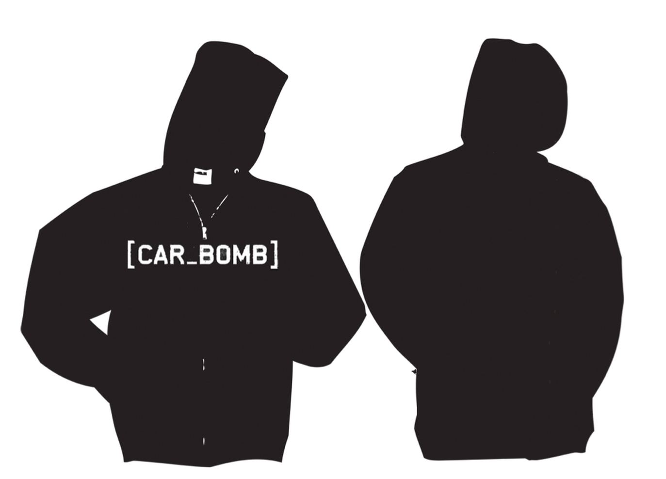 Car Bomb hoodie