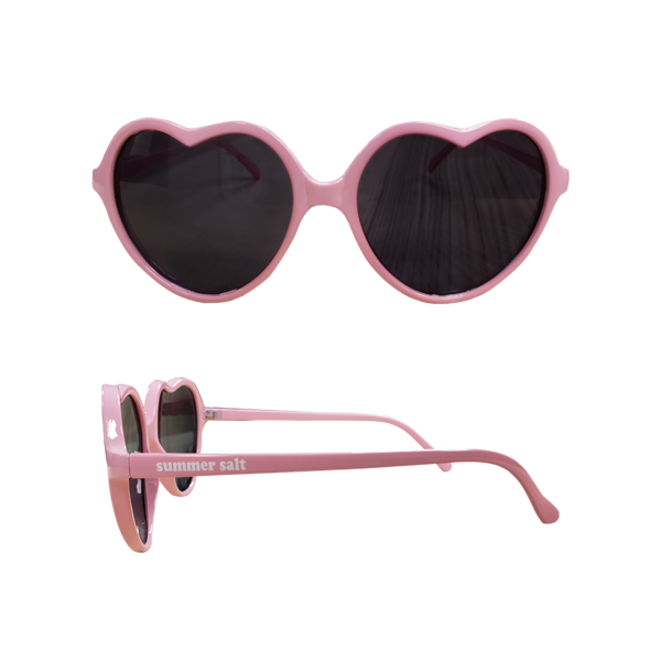 Light Pink Heart Sunglasses