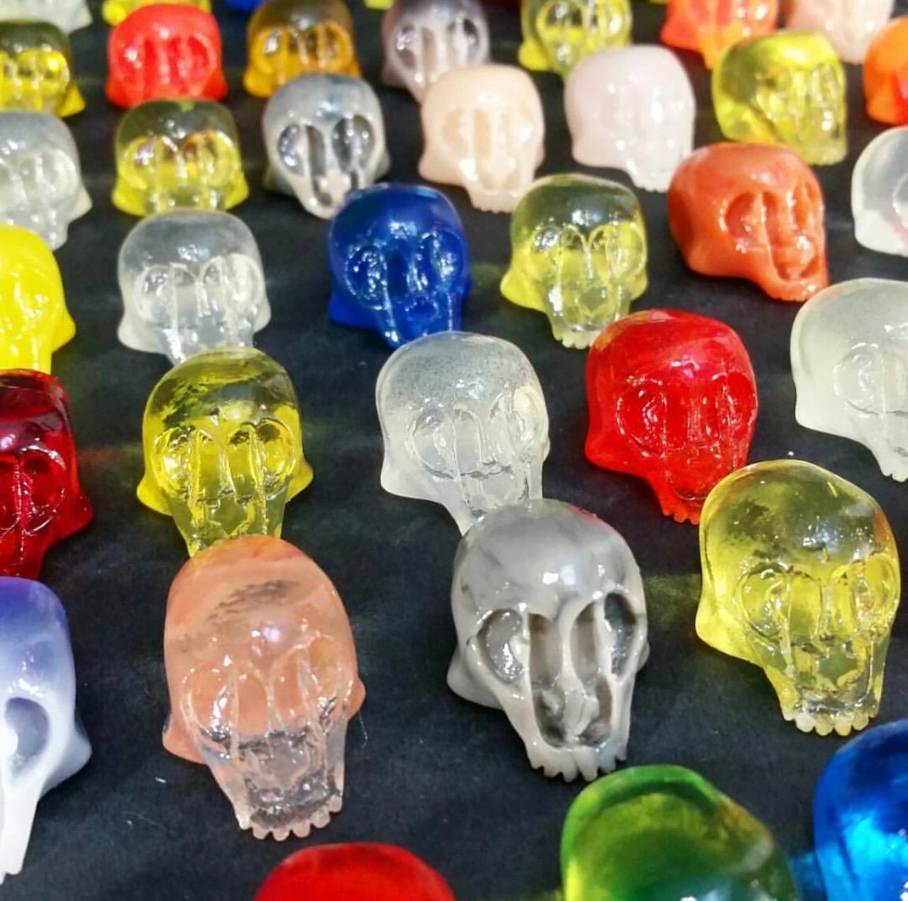 4 Pack MIcro Skull