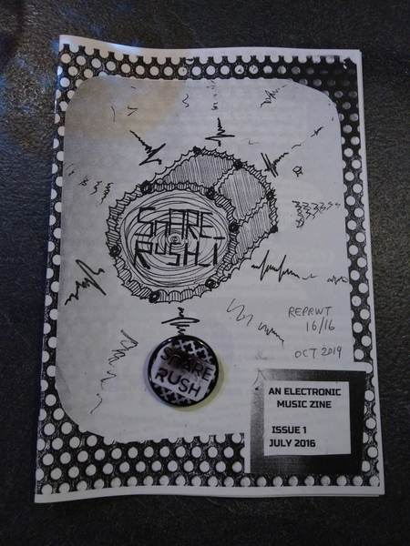Snare Rush Zine Issue #1 REPRINT