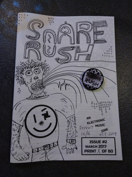 Snare Rush Zine Issue #2 REPRINT