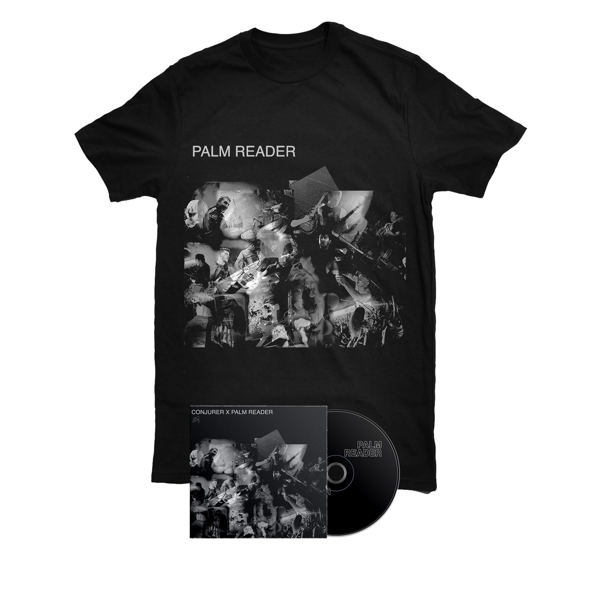 Conjurer & Palm Reader - Palm Reader shirt + CD